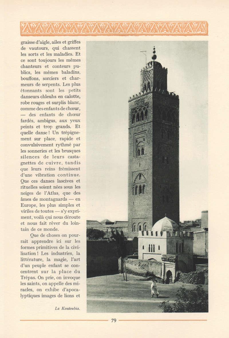 VISIONS DU MAROC, André CHEVRILLON. - Page 3 Vision47