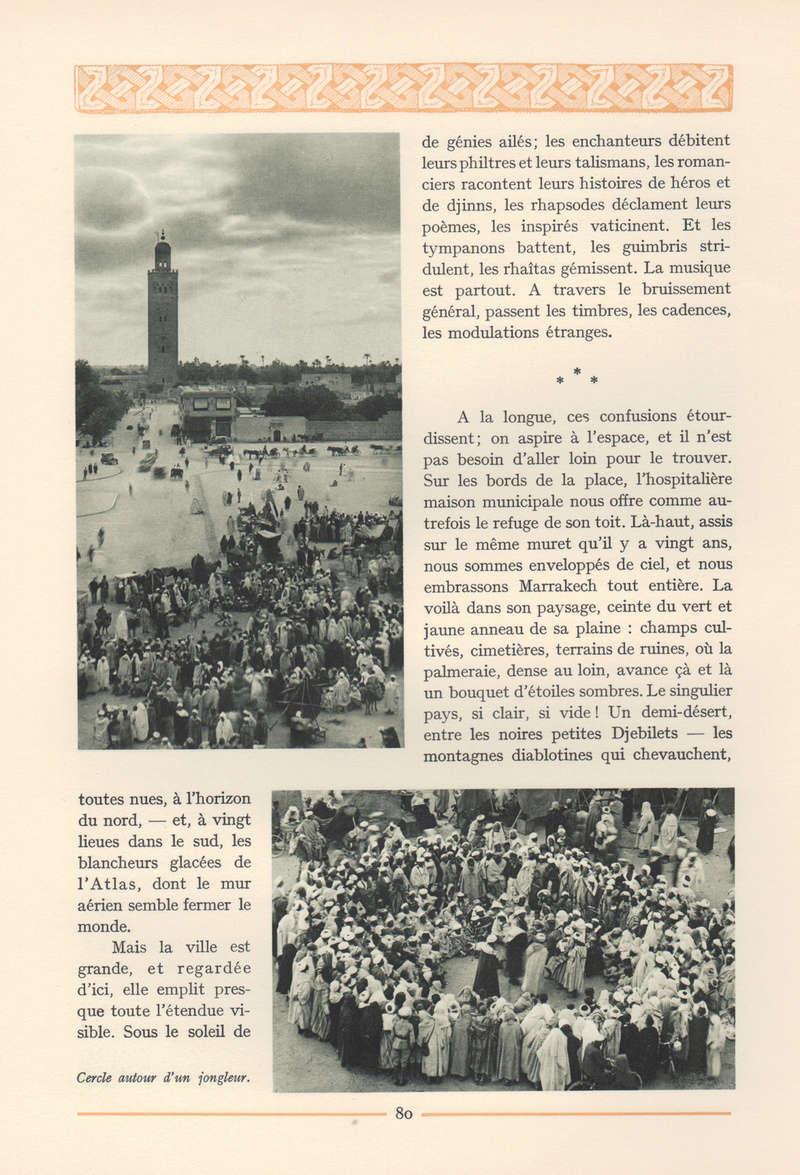 VISIONS DU MAROC, André CHEVRILLON. - Page 3 Vision48