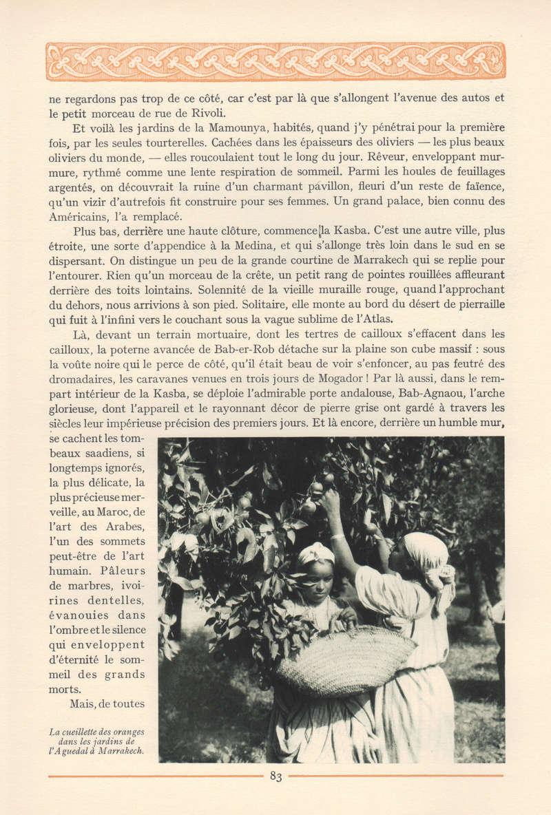 VISIONS DU MAROC, André CHEVRILLON. - Page 4 Vision51
