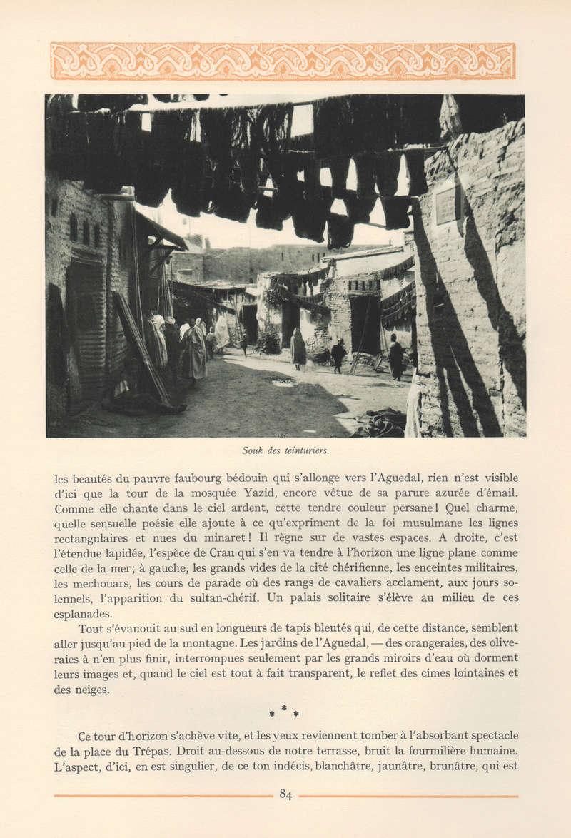 VISIONS DU MAROC, André CHEVRILLON. - Page 4 Vision52