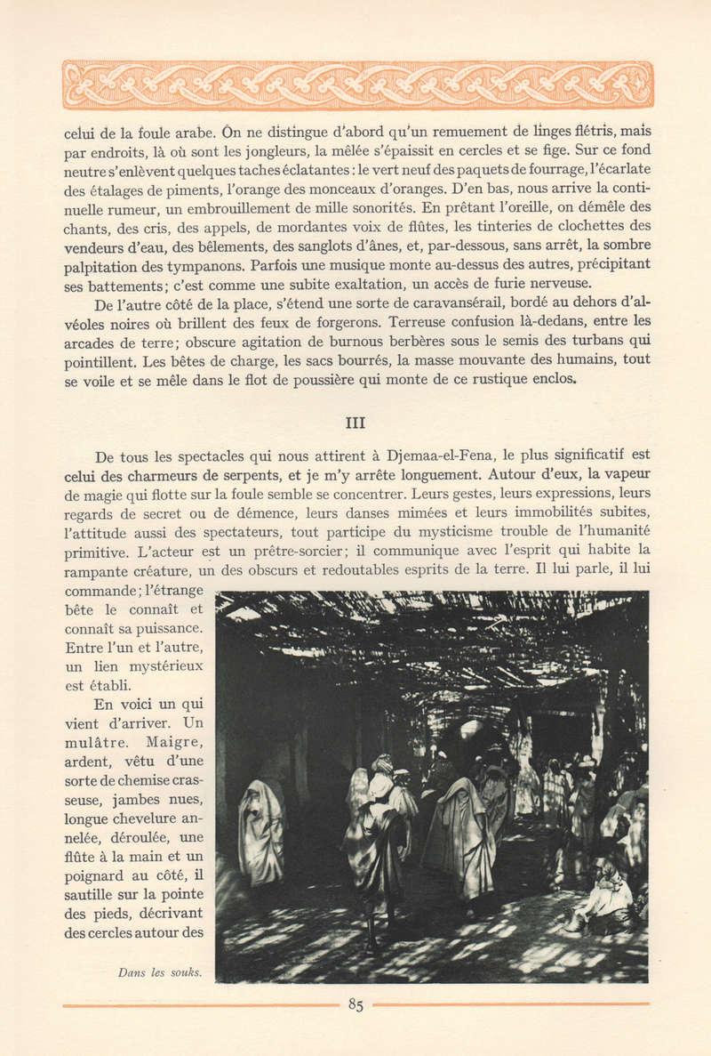 VISIONS DU MAROC, André CHEVRILLON. - Page 4 Vision53