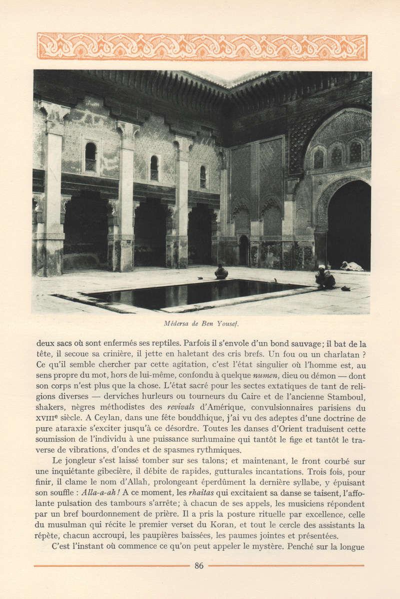 VISIONS DU MAROC, André CHEVRILLON. - Page 4 Vision54