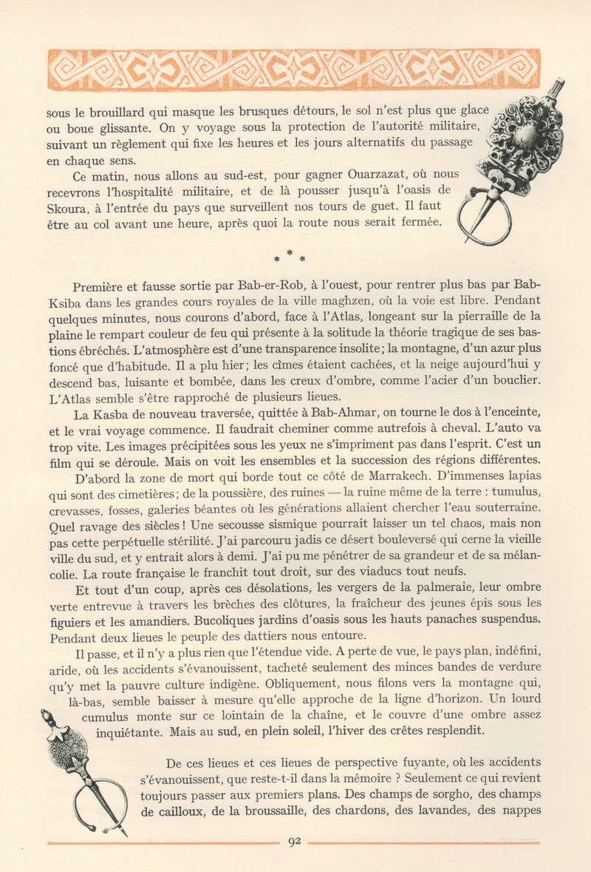 VISIONS DU MAROC, André CHEVRILLON. - Page 4 Vision86