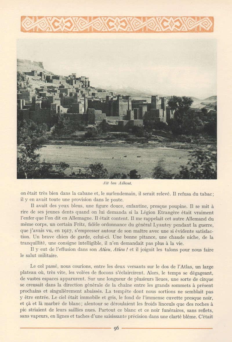 VISIONS DU MAROC, André CHEVRILLON. - Page 4 Vision90