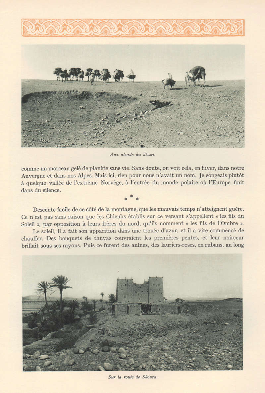VISIONS DU MAROC, André CHEVRILLON. - Page 4 Vision92