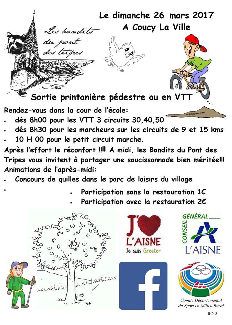 printanière des bandits -COUCY LA VILLE - 26/03/2017 Sortie13