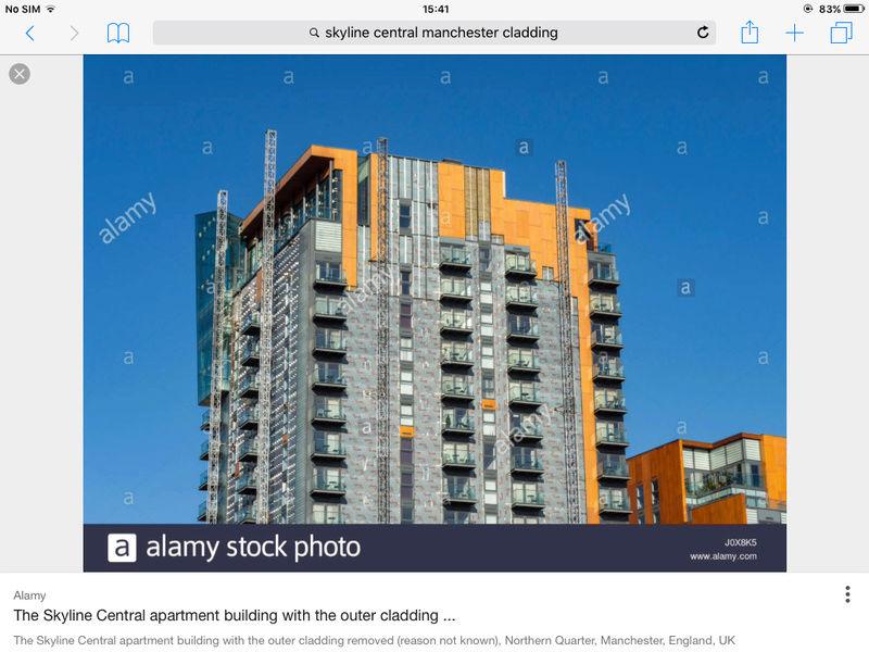 Grenfell House tower block blaze. Image205