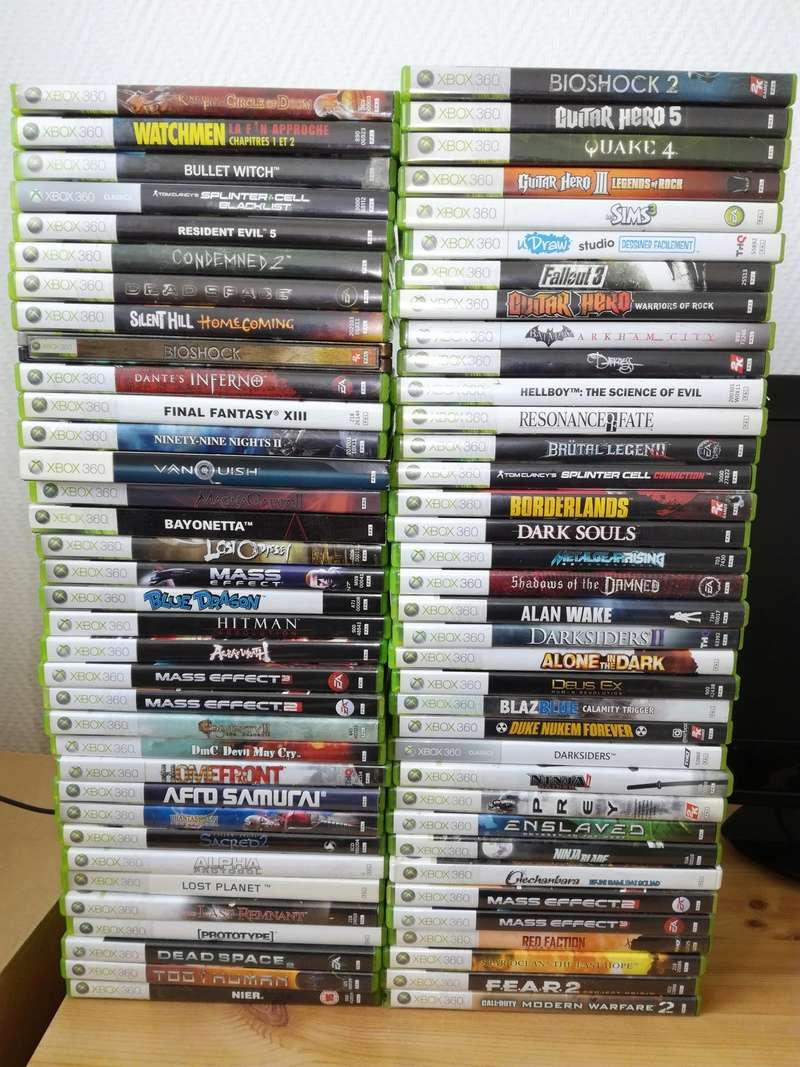 Estimation Gros Lot Xbox 360 Img_2031
