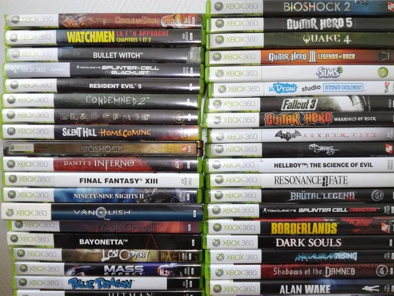 Estimation Gros Lot Xbox 360 Img_2033