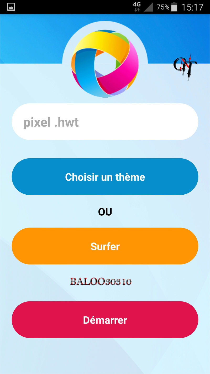 Crée ses propres thèmes via thèmes Editor pour les ( HUAWEI ) Screen11
