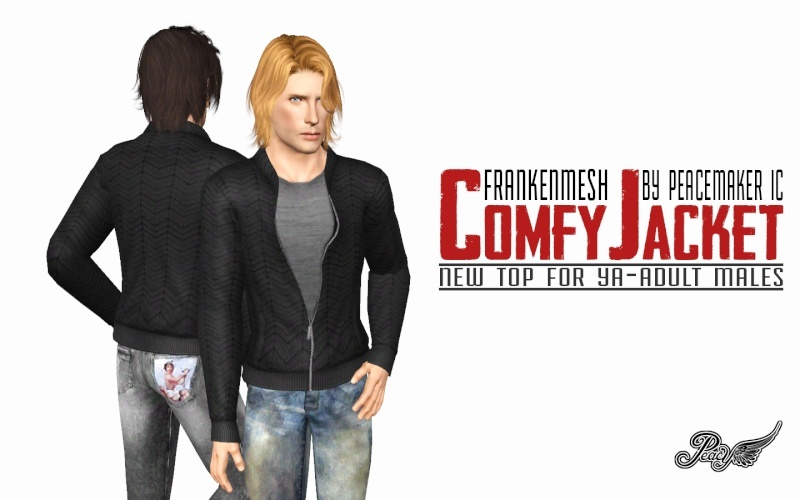 Frankenmesh - Comfy Jacket by Simsational Designs Comfy_10