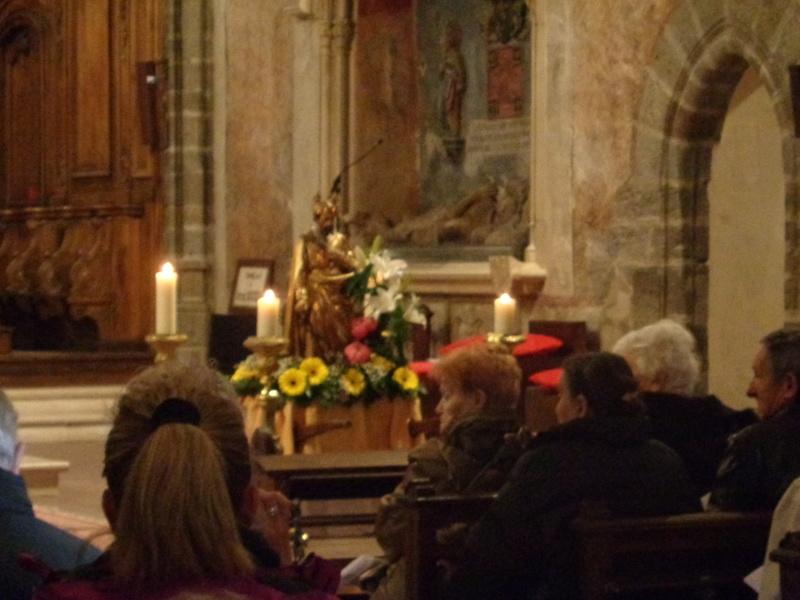 Le 1er mai, nous fêtons St Joseph, Patron des Travailleurs, à St Marcel d'Espaly (43) Dsc01314