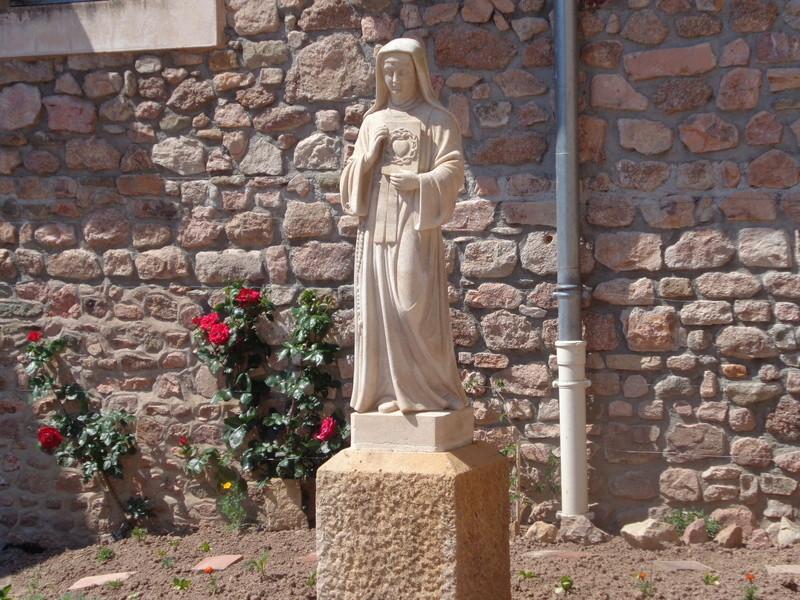 Le Sacré-Coeur de Notre Seigneur Jésus-Christ révélé à Ste Marguerite-Marie Alacoque.  Dsc01412