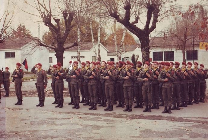 1er RCP 2eme compagnie camp d'Idron La210