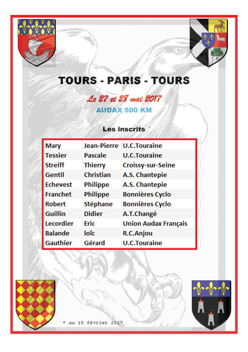 TOURS - PARIS - TOURS Audax Les_in10
