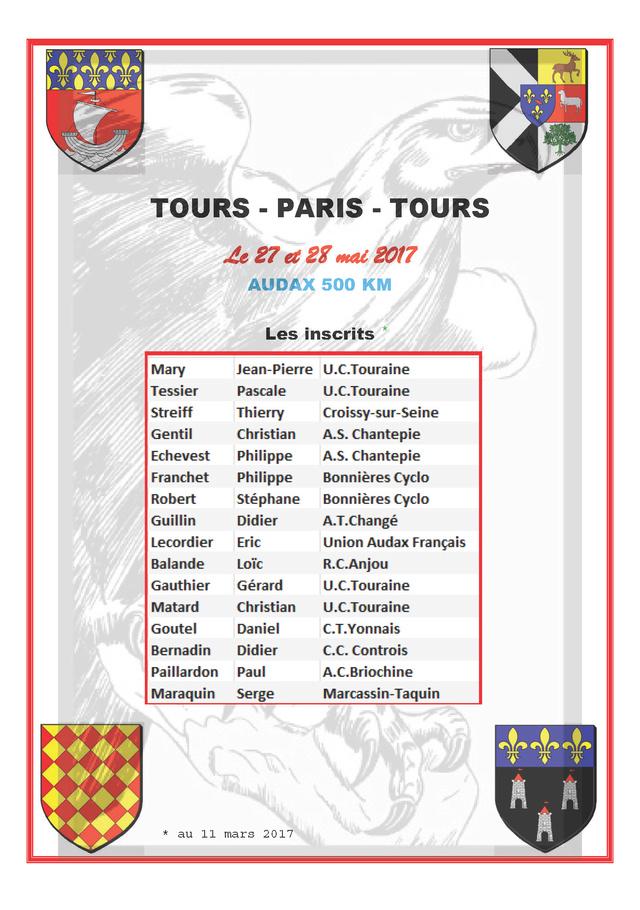 TOURS - PARIS - TOURS Audax Les_in11