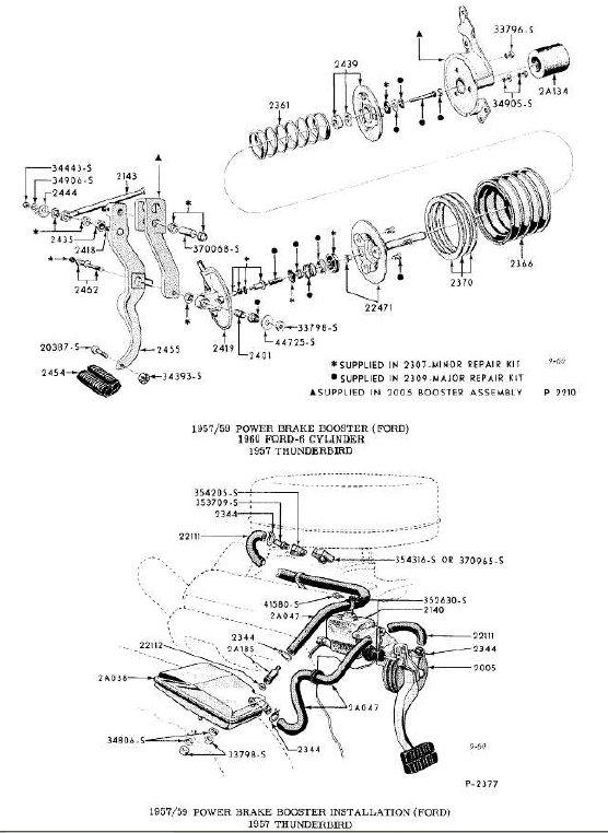 Brake Booster Ford Brakep10