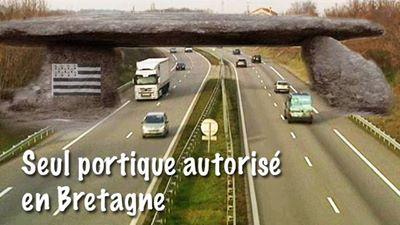 HUMOUR - les seuls portiques autorisés en bretagne 13821811