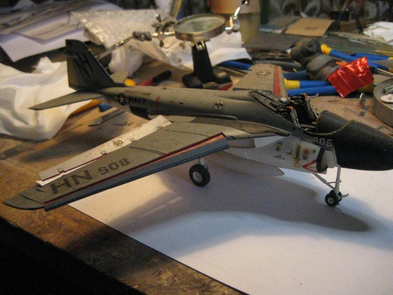 Grumman EA-6A Wild Weasel / Revell, 1:48 Img_2634