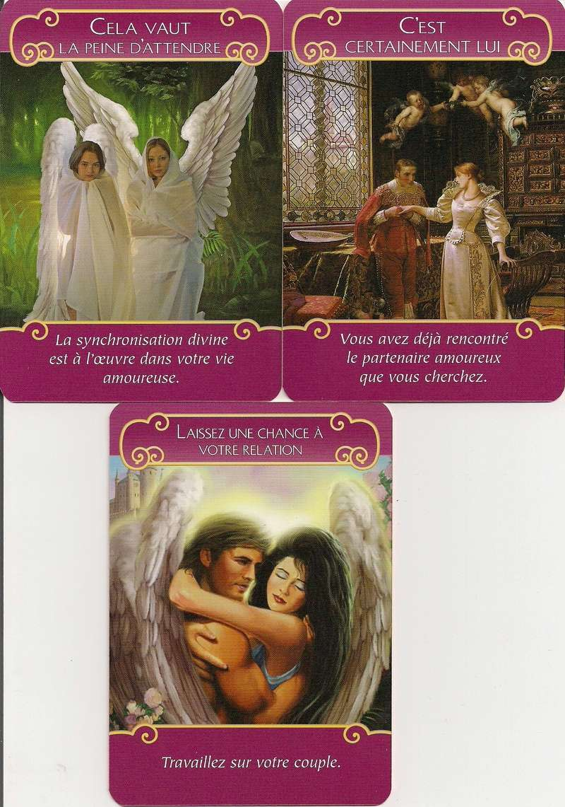 Tirage oracle Les Anges de l'amour (Doreen Virtue) Numyri10