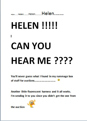 PLEASE LET US KNOW Helen11