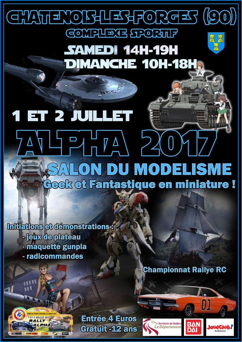 Expo Alpha 2017 - le 1er et 2 juillet 2017 Af17e10