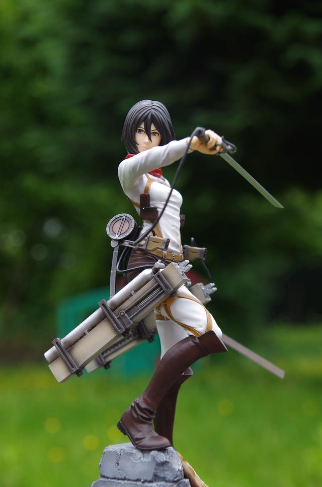 Mikasa Ackerman 1/7 de l'attaque des titans  Imgp4014