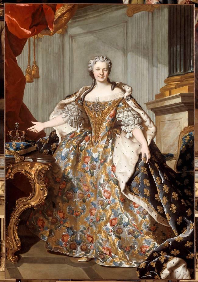 Louis XV et Marie Leczinska 410