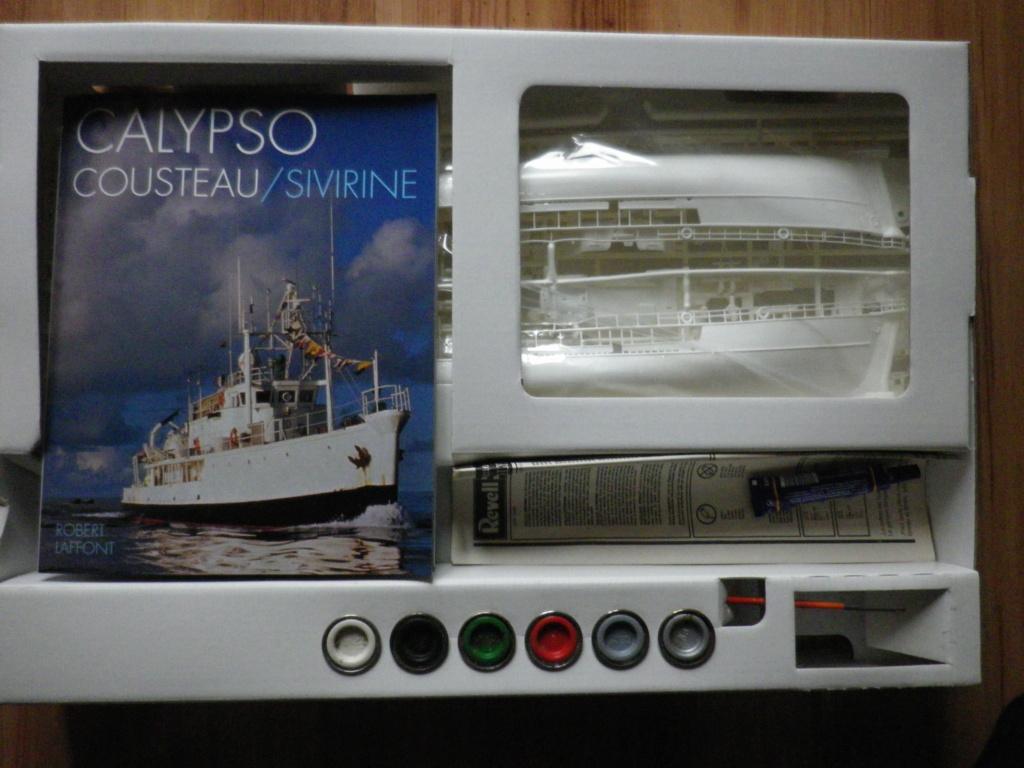 À VENDRE : La Calypso au 1/125 de Revell Imgp6910