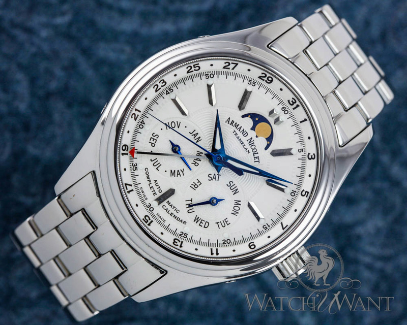 ARMAND NICOLET MO2 Complete Calendar Moon Phase Armand14
