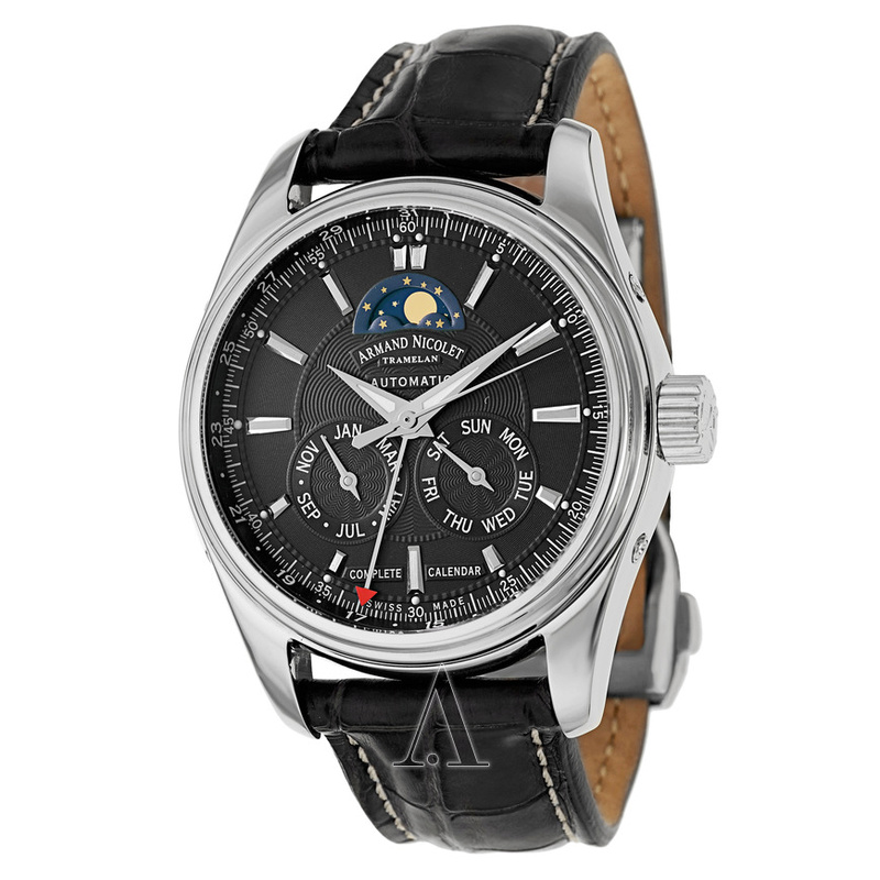 ARMAND NICOLET MO2 Complete Calendar Moon Phase Armand15