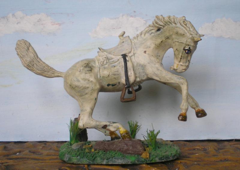 Cowboy zu Pferd mit Lasso - Umbau in der Figurengröße 7 cm - Seite 2 139j2b13