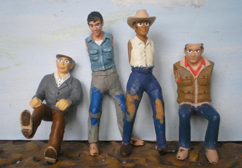 Bemalungen, Umbauten, Modellierungen - neue Cowboys für meine Dioramen - Seite 4 20170310
