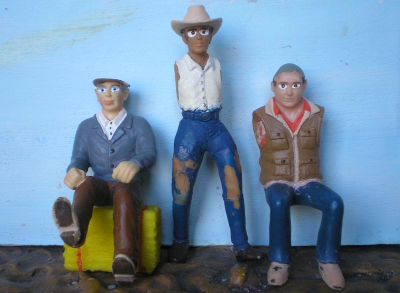 Bemalungen, Umbauten, Modellierungen - neue Cowboys für meine Dioramen - Seite 4 20170312