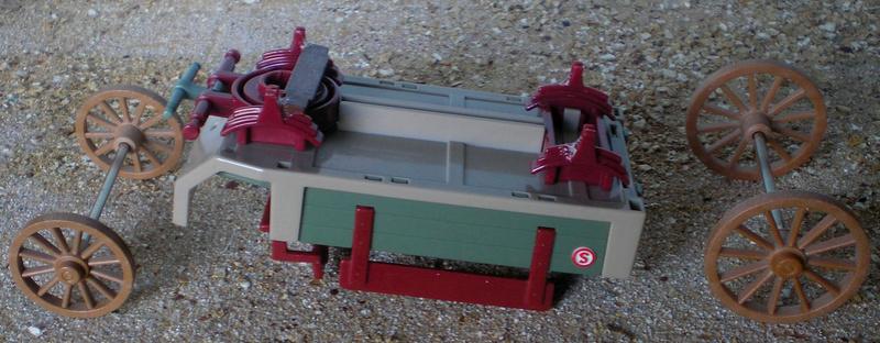 Bemalungen, Umbauten, Eigenbau - neue Fuhrwerke für meine Dioramen 251a2b10