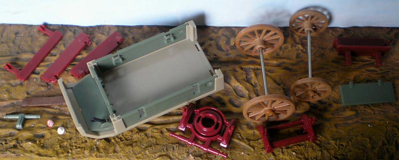 Bemalungen, Umbauten, Eigenbau - neue Fuhrwerke für meine Dioramen 251c1_10