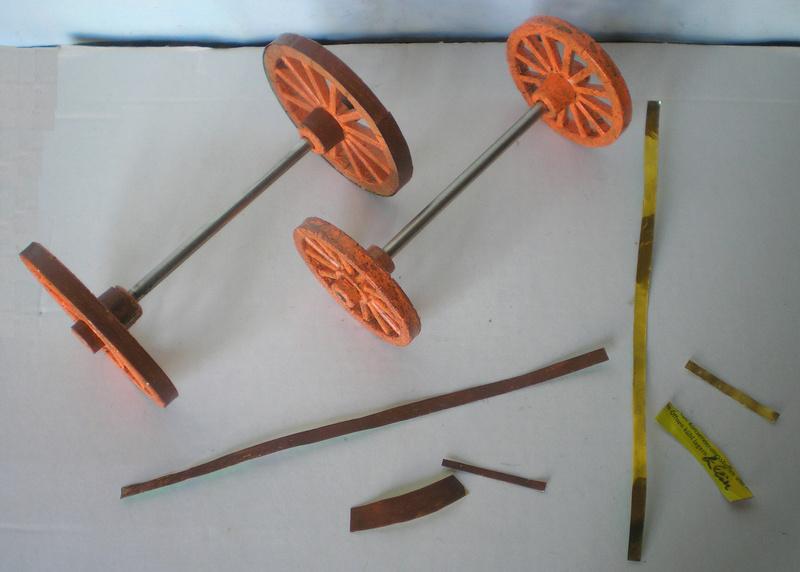 Bemalungen, Umbauten, Eigenbau - neue Fuhrwerke für meine Dioramen 251c2a15