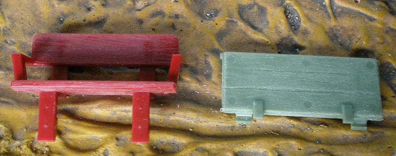 Bemalungen, Umbauten, Eigenbau - neue Fuhrwerke für meine Dioramen 251c3a13