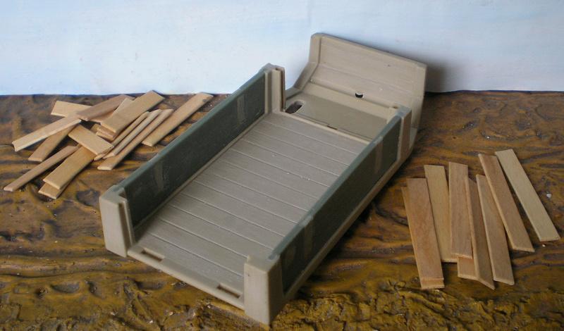 Bemalungen, Umbauten, Eigenbau - neue Fuhrwerke für meine Dioramen - Seite 2 251c3a48
