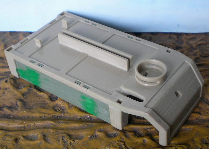 Bemalungen, Umbauten, Eigenbau - neue Fuhrwerke für meine Dioramen - Seite 2 251c3a53
