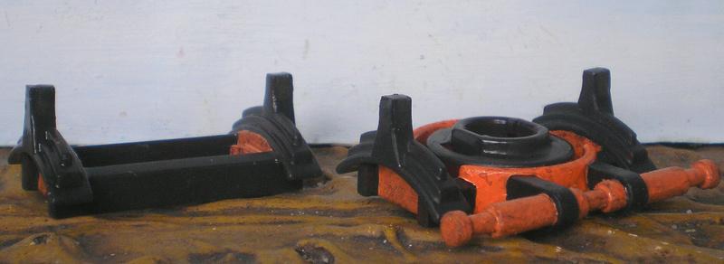 Bemalungen, Umbauten, Eigenbau - neue Fuhrwerke für meine Dioramen 251c3b10