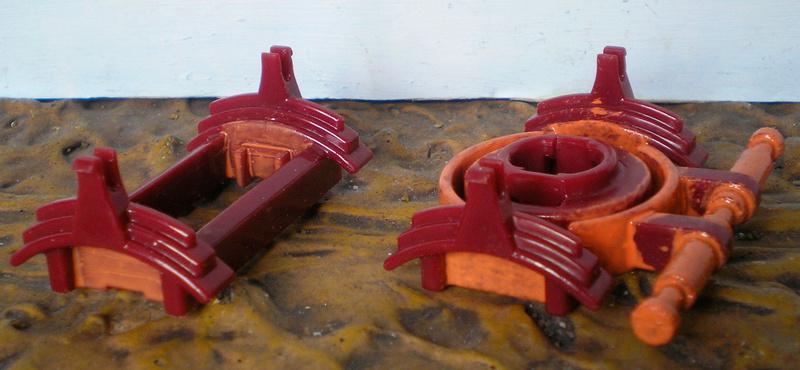 Bemalungen, Umbauten, Eigenbau - neue Fuhrwerke für meine Dioramen 251c3b12