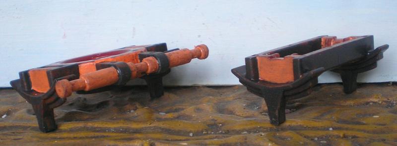 Bemalungen, Umbauten, Eigenbau - neue Fuhrwerke für meine Dioramen 251c3b15