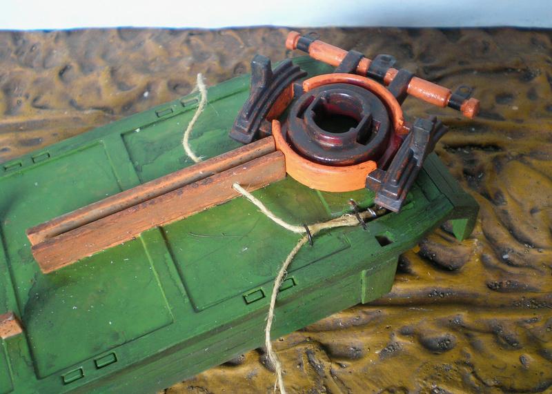 Bemalungen, Umbauten, Eigenbau - neue Fuhrwerke für meine Dioramen - Seite 2 251c4b13