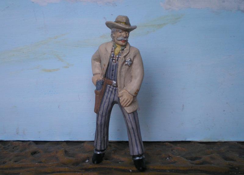 Bemalungen, Umbauten, Modellierungen - neue Cowboys für meine Dioramen - Seite 4 252b2a10