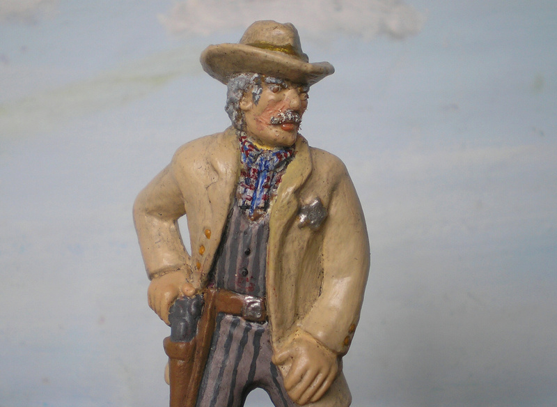 Bemalungen, Umbauten, Modellierungen - neue Cowboys für meine Dioramen - Seite 4 252b2c10