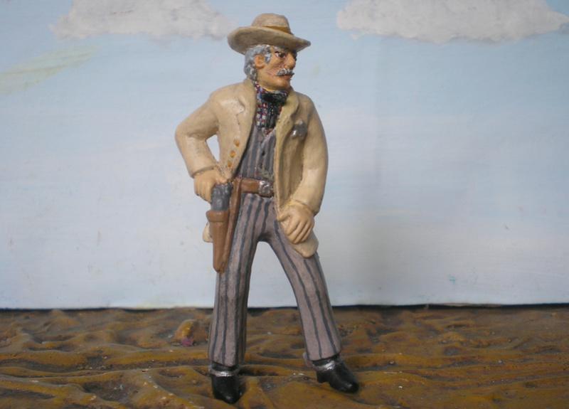 Bemalungen, Umbauten, Modellierungen - neue Cowboys für meine Dioramen - Seite 4 252b3a10