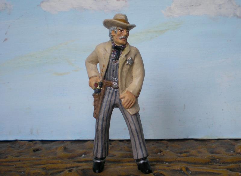 Bemalungen, Umbauten, Modellierungen - neue Cowboys für meine Dioramen - Seite 5 252b4c10