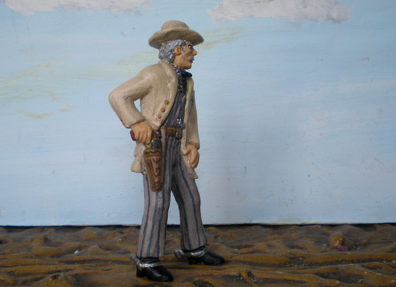 Bemalungen, Umbauten, Modellierungen - neue Cowboys für meine Dioramen - Seite 5 252b4d10