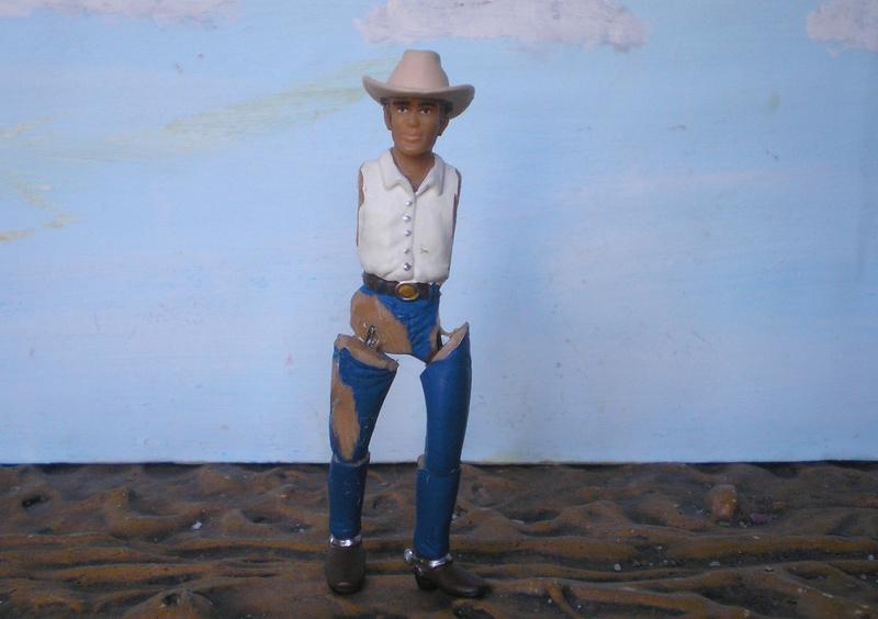 Bemalungen, Umbauten, Modellierungen - neue Cowboys für meine Dioramen - Seite 4 252c2a10